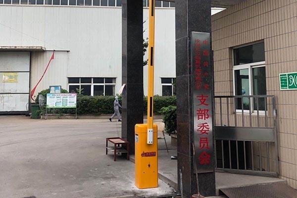 徐州巨力起重有限公司选择徐州圣杰科技有限公司道闸系统产品