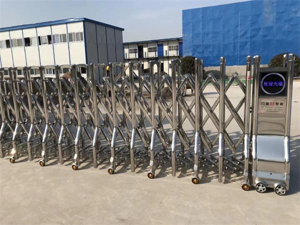 热烈庆祝江苏南通六建选择徐州圣杰科技有限公司电动伸缩门产品
